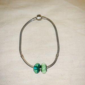 Authentic Silver Pandora Bracelet